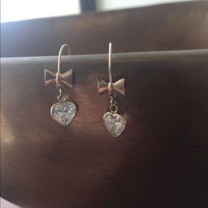 Jewelry - Special Cubic Zirconia Heart Dainty Earrings